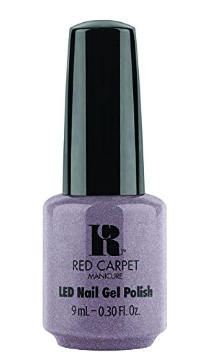 パーティー裁判所ドラフトRed Carpet Manicure - LED Nail Gel Polish - One of a Kind - 0.3oz / 9ml