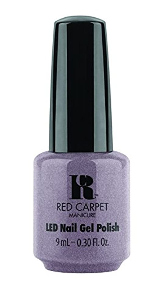 穿孔する散るファブリックRed Carpet Manicure - LED Nail Gel Polish - One of a Kind - 0.3oz / 9ml