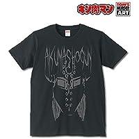 キン肉マン 悪魔将軍 サタニックロゴ Tシャツ ブラック[Sサイズ]