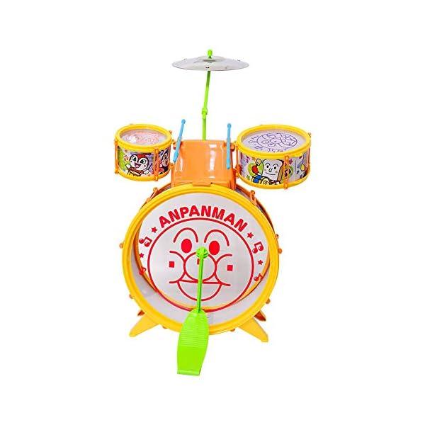 アンパンマン うちの子天才 おおきなドラムセットの紹介画像2