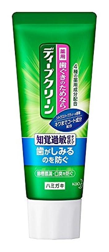 襲撃含意メモ【花王】ディープクリーンS 薬用ハミガキ 60g ×5個セット