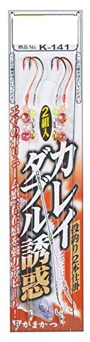 がまかつ(Gamakatsu) カレイダブル誘惑仕掛 K141 13号-ハリス5. 43279-13-5-07