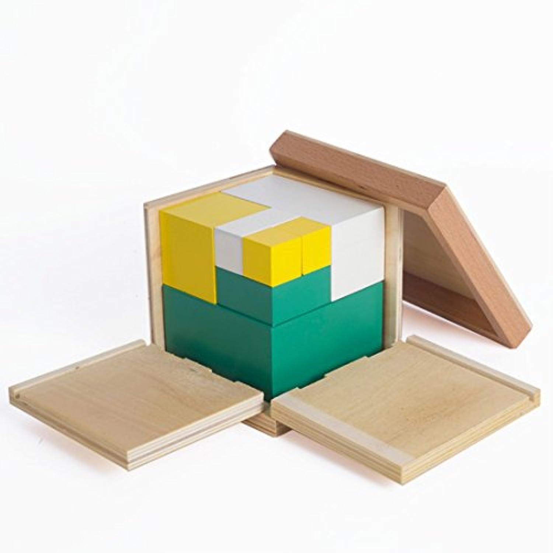 ベビーおもちゃモンテッソーリ数学玩具電源2キューブトレーニングEarly教育Preschoolトレーニング子供おもちゃbrinquedos Eの趣味の数学