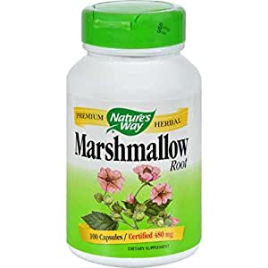 Marshmallow Root - 100 Capsules by Nature's Way