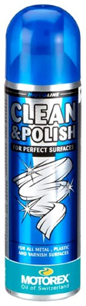 手数料個人採用MOTOREX(モトレックス) Clean & Polish 500ml 保護?ツヤ出し