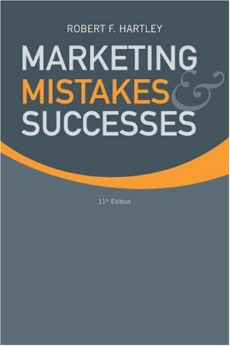Download Marketing Mistakes and Successes 0470169818