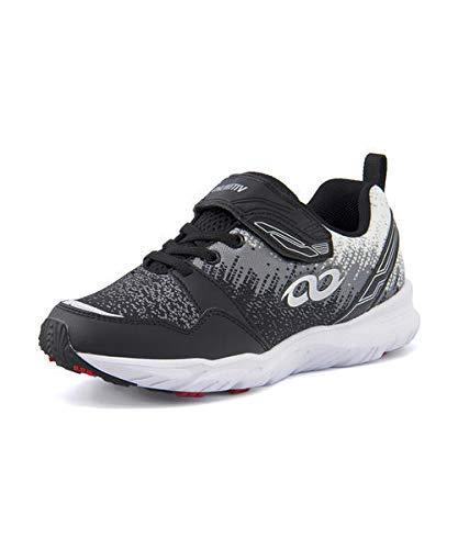 [アンリミティブ] 0002 ブラック バンダイ 運動靴 男の子 女の子 スニーカー