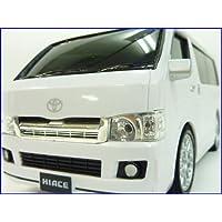 Y?S?N◇トヨタハイエース正規ライセンス車1/24ラジコンカー/ホワイト