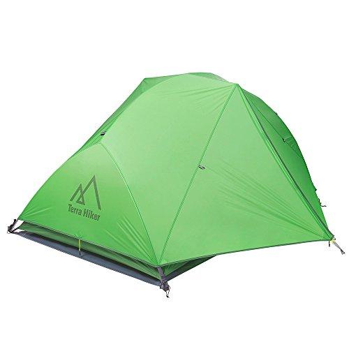 Terra Hiker キャンプ テント 2人用 PU4000 4シーズン用...