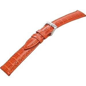 [モレラート]Morellato VOLTERRA ボルテラ 時計ベルト 16mm オレンジ アリゲーター時計ベルト U0856 056 086 016