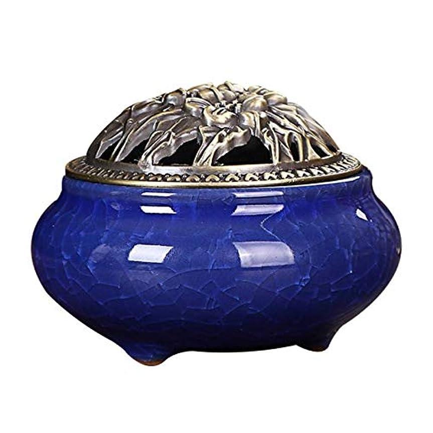 早熟スワップ衝突Zhaozhe陶磁器 香炉 香皿 セラミック 渦巻き線香 アロマ などに