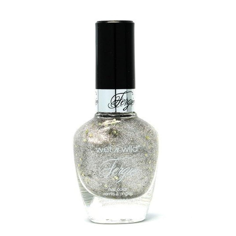 キルト文句を言う相談する(3 Pack) WET N WILD Fergie Heavy Metal Nail Polish - Titanium Crush (DC) (並行輸入品)