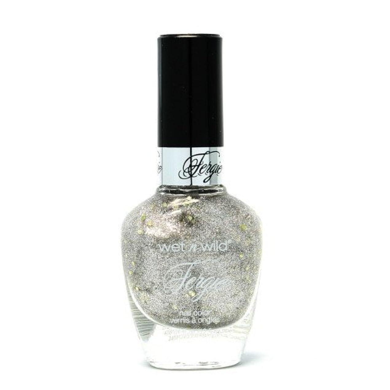 コック芝生気楽なWET N WILD Fergie Heavy Metal Nail Polish - Titanium Crush (DC) (並行輸入品)
