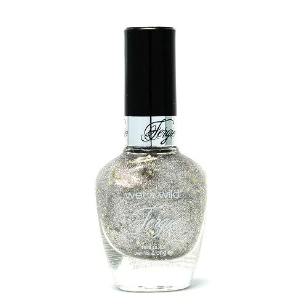 ラショナル人道的常習的(6 Pack) WET N WILD Fergie Heavy Metal Nail Polish - Titanium Crush (DC) (並行輸入品)