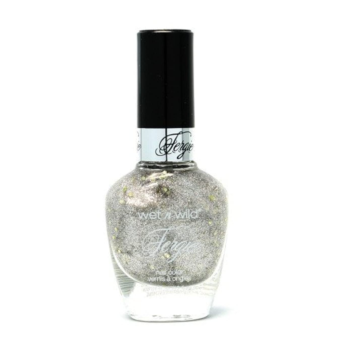非互換同じ混乱させるWET N WILD Fergie Heavy Metal Nail Polish - Titanium Crush (DC) (並行輸入品)