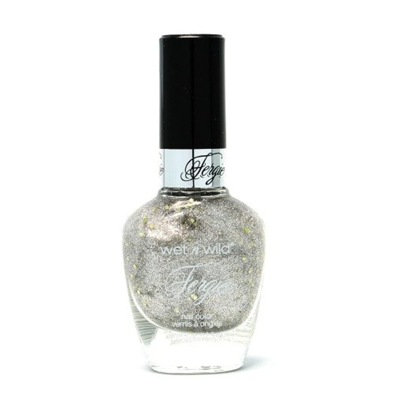 (6 Pack) WET N WILD Fergie Heavy Metal Nail Polish - Titanium Crush (DC) (並行輸入品)
