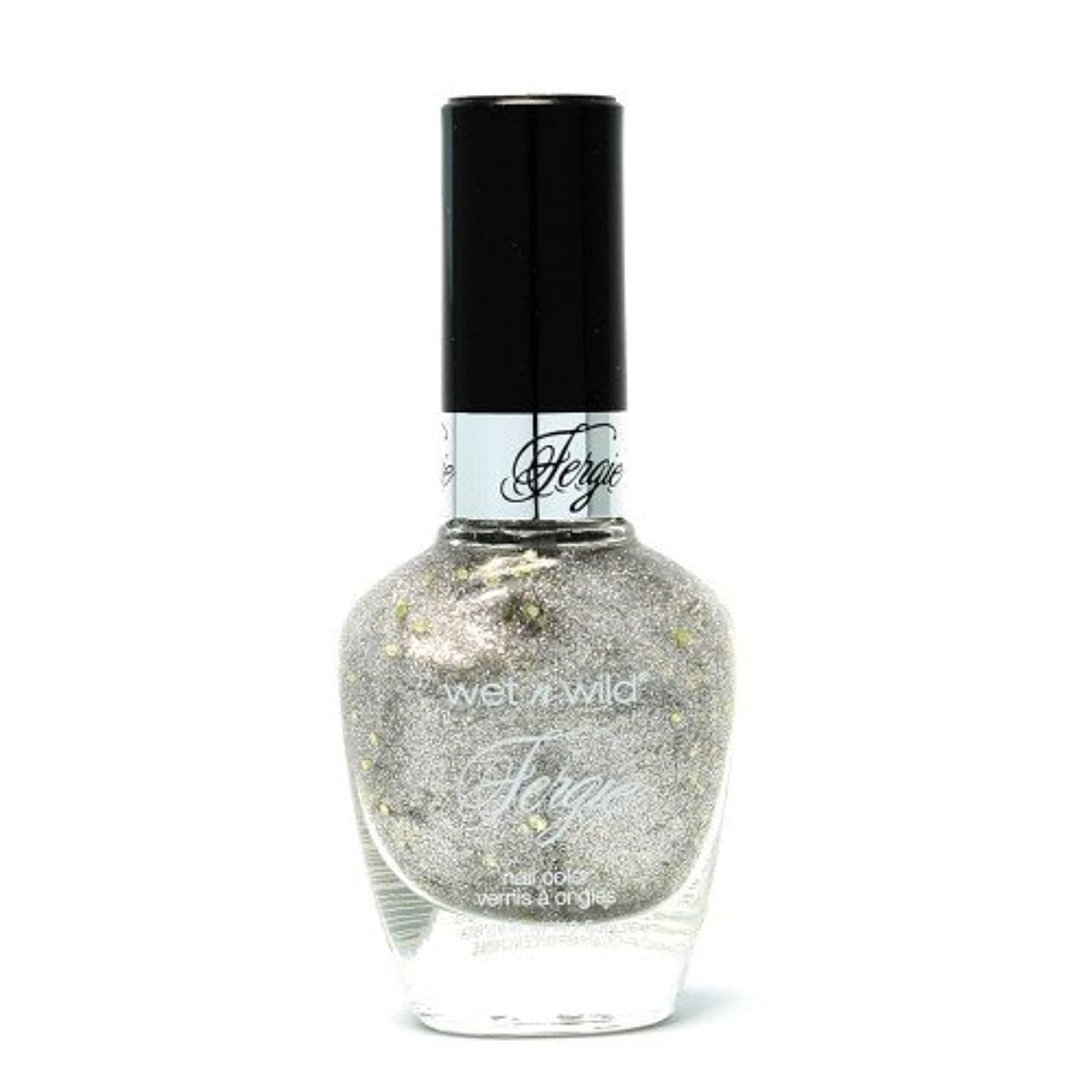 古代瞬時にフィルタ(6 Pack) WET N WILD Fergie Heavy Metal Nail Polish - Titanium Crush (DC) (並行輸入品)