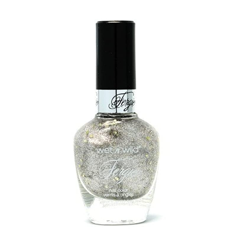 曲がった電話に出る競争力のある(3 Pack) WET N WILD Fergie Heavy Metal Nail Polish - Titanium Crush (DC) (並行輸入品)