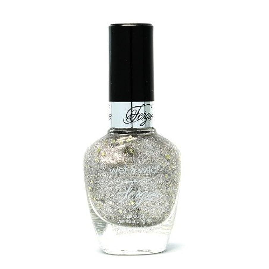 緑乱気流虎(6 Pack) WET N WILD Fergie Heavy Metal Nail Polish - Titanium Crush (DC) (並行輸入品)