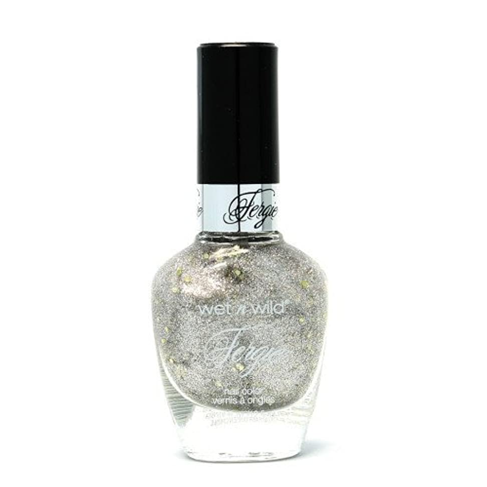 キャンパスバリー制限された(6 Pack) WET N WILD Fergie Heavy Metal Nail Polish - Titanium Crush (DC) (並行輸入品)