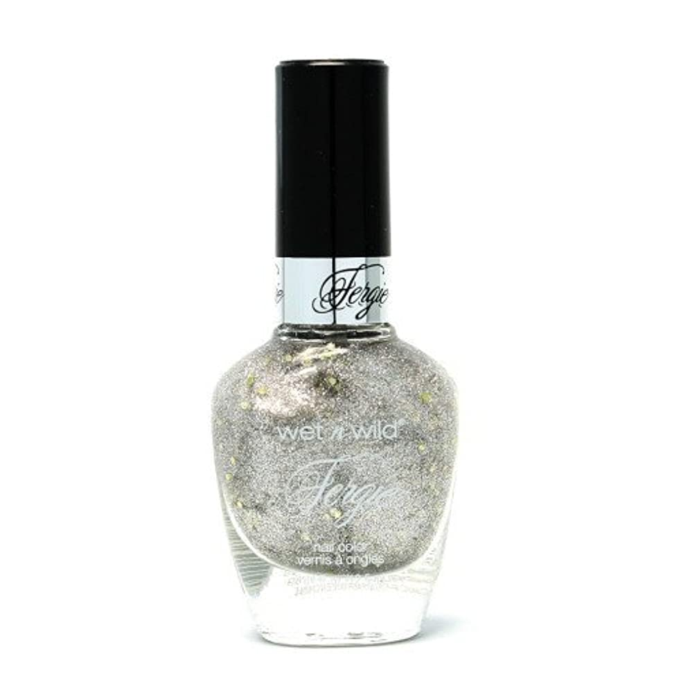 ベリ名前分泌する(6 Pack) WET N WILD Fergie Heavy Metal Nail Polish - Titanium Crush (DC) (並行輸入品)
