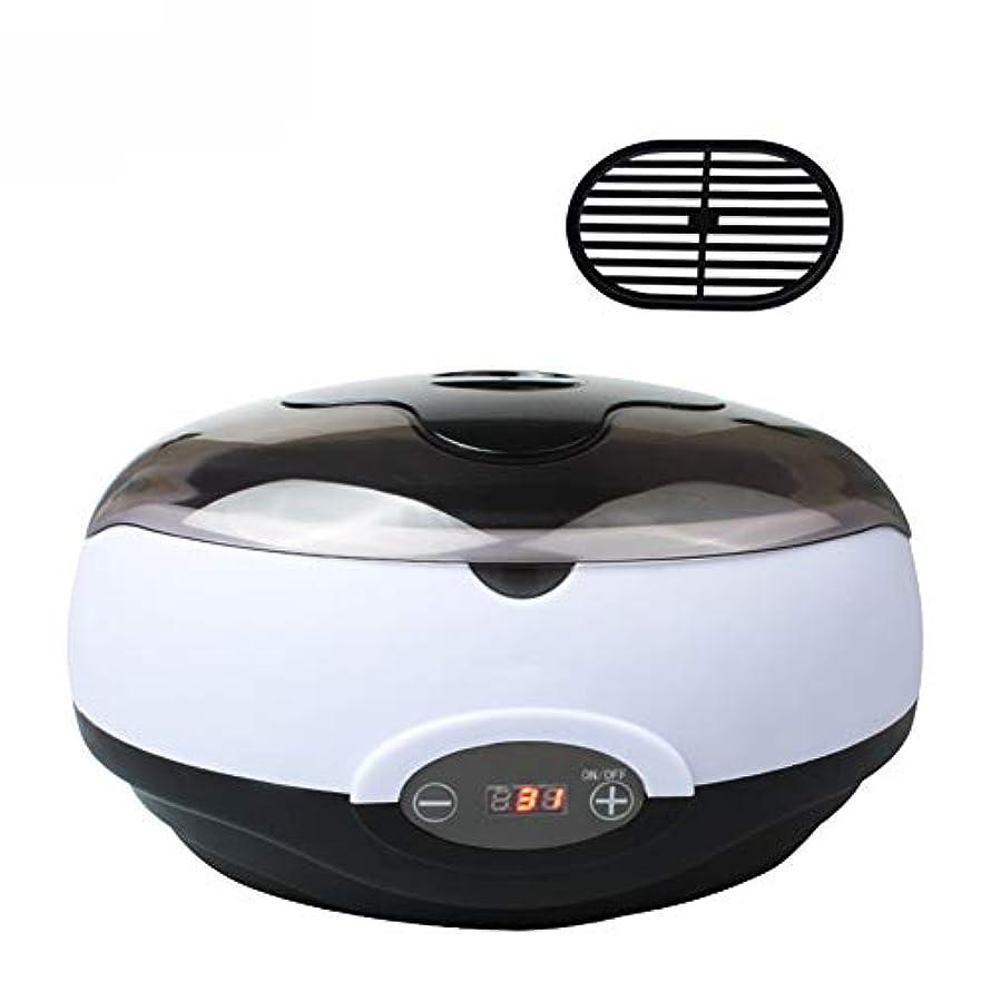 保湿パラフィン浴電気2.8Lポットヒーター電気ホットパラフィンワックスウォーマースパバスLCD温度表示用固体ワックスブロック