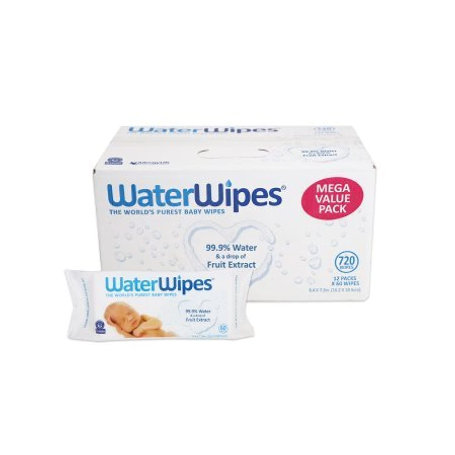 WaterWipes値Baby Wipes .3Pack (720 count)