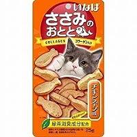 日本製 Japan いなば 猫用おやつ ささみのおとと チキンスープ味 25g QSC-203