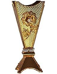 Arabia Incense / bakhoor Burner ( Mabkhara ) – Oud Burner、メタル、トレイ内側14インチトール 14 inc.