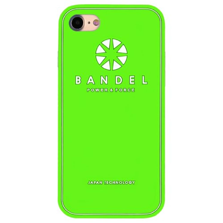 以前はすべてルーバンデル(BANDEL) iPhone7ケース ロゴ グリーン [iPhone7用シリコンケース]