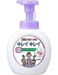 キレイキレイ 薬用 泡ハンドソープ フローラルソープの香り 本体ポンプ 大型サイズ 500ml(医薬部外品)
