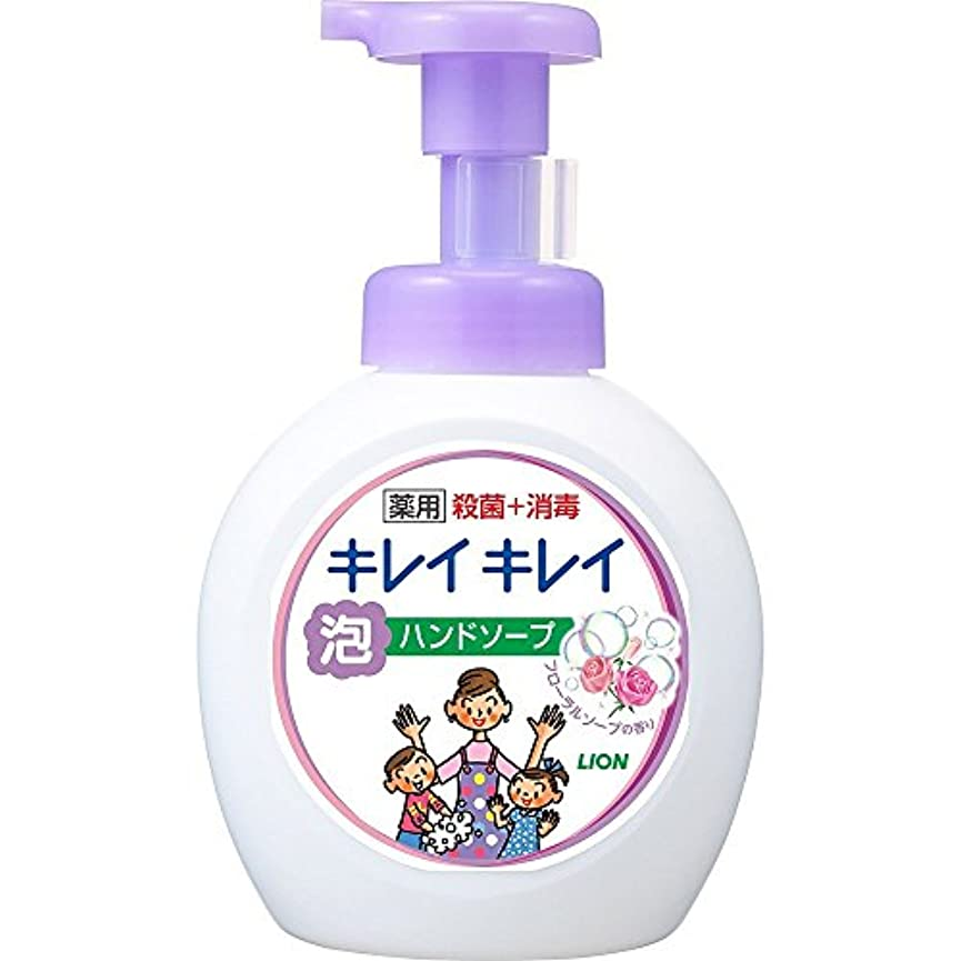 バレエシェーバーとんでもないキレイキレイ 薬用 泡ハンドソープ フローラルソープの香り 本体ポンプ 大型サイズ 500ml(医薬部外品)