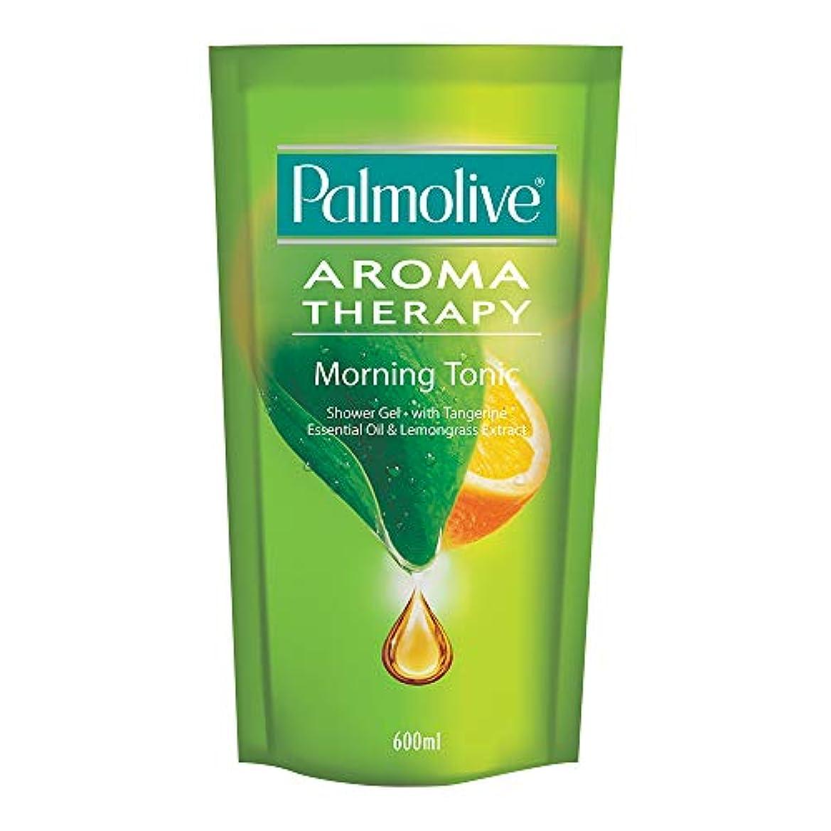 レビュー架空のパリティPalmolive/パルモリーブ AROMA Therapy Morning Tonic/モーニングトニック Shower Gel 600ml Refill 詰替