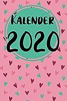 Kalender 2020: Kalender 2020- 120 Seiten; A5; Wocheneinteilung; Dieser schoene Kalender wird euch gut durch das Jahr 2020 bringen. Ihr bleibt durch die Wochenansicht, welche sich auf eine Doppelseite aufteilt, immer bestens organisiert;  Pro Wochentag find