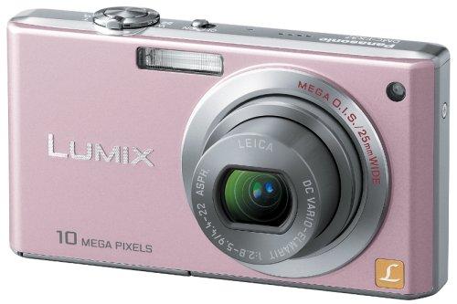 Panasonic デジタルカメラ LUMIX (ルミックス) FX37 カクテルピンク DMC-FX37-P -
