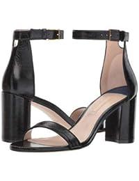 Stuart Weitzman(スチュアートワイツマン) レディース 女性用 シューズ 靴 ヒール 75lessnudist - Black Gleaming Tripon [並行輸入品]