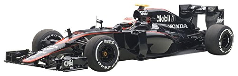 AUTOart 1/18 マクラーレン MP4-30 ホンダ F1 スペインGP 2015 #22 ジェンソン?バトン (ドライバーフィギュア付き) 完成品