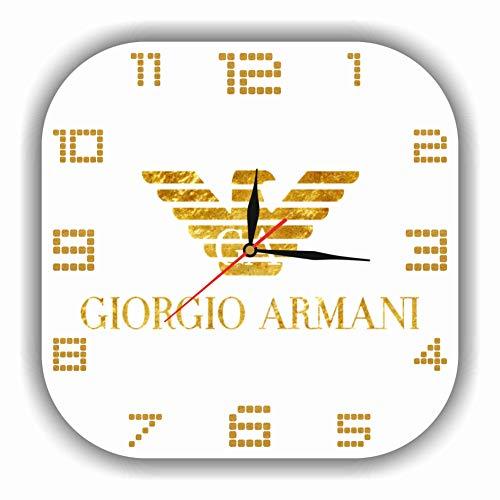Giorgio Armani 11'' 壁時計 ジョルジオ・アルマーニ あなたの友人のための最高の贈り物。あなたの家のためのオリジナルデザイン。