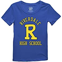Ripple Junction Archie Riverdale High Logo Junior's T-Shirt