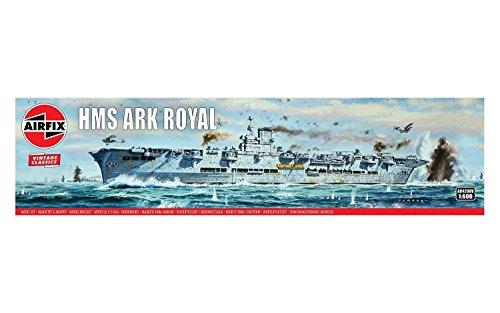 エアフィックス 1/600 ヴィンテージクラシックス イギリス軍 HMS アークロイヤル プラモデル X-4208V