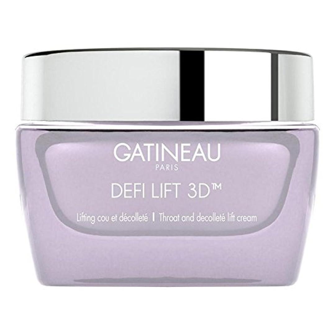 無線銀行租界Gatineau DefiLIFT 3D Throat and Decollette Lift Cream 50ml - ガティノー 3喉とリフトクリーム50 [並行輸入品]
