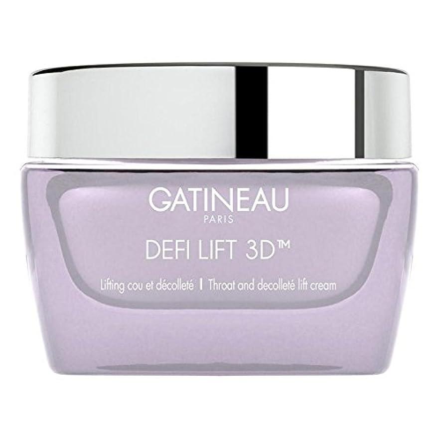 故意に保険をかける時計Gatineau DefiLIFT 3D Throat and Decollette Lift Cream 50ml - ガティノー 3喉とリフトクリーム50 [並行輸入品]