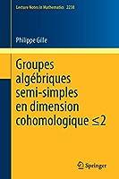 Groupes algébriques semi-simples en dimension cohomologique ≤2: Semisimple algebraic groups in cohomological dimension  ≤2 (Lecture Notes in Mathematics)
