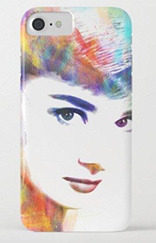 オードリー・ヘップバーン society6 iPhone 7/7 Plusケース (iPhone 7, Audrey13) [並行輸入品]
