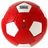 Tachikara Scarlet/White Soccer Ball Size 4 【You&Me】 [並行輸入品]
