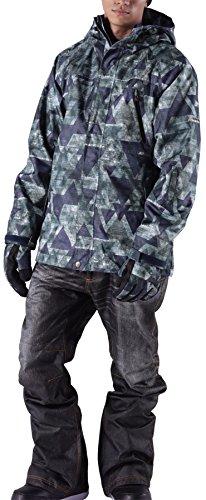 [해외]PONTAPES (뽄타 뻬스) 총 20 색 무늬 리얼 데님 바람 프린트 팬츠 스노우 보드웨어 상하 세트 남성 여성 PDD-SET/PONTAPES (Pontape) All 20 colors color real Denim style printed pants Snowboard wear top and bottom sets Men`s Women`s PDD-SE...