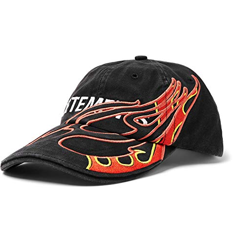 (ヴェトモン) Vetements Reebok リーボック刺繍コットンツイルベースボールキャップ Baseball Cap (並行輸入品)