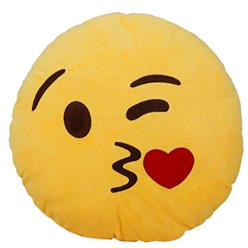【ノーブランド品】抱き枕 クッションカバー 装飾 絵文字 顔 柔らかい ギフ...