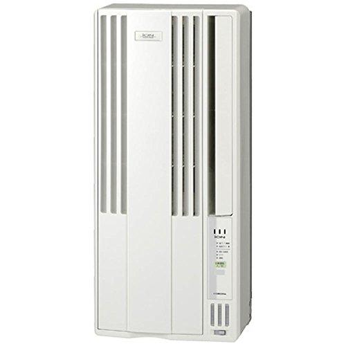 コロナ 窓用エアコン(冷房専用・おもに4~6畳用 シェルホワイト)CORONA CW-A1616-WS