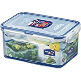Lock & Lock Classic Stackable Airtight Rectangle Food Container, 1.1L